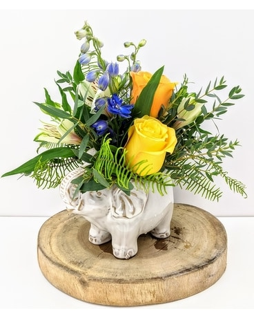 Elephant Love Flower Arrangement