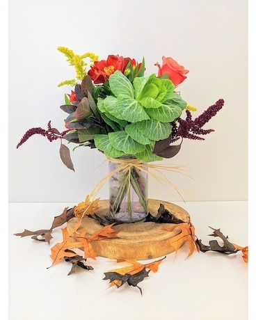 Farm Stand Flower Arrangement