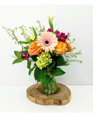 Golden Hour Flower Arrangement