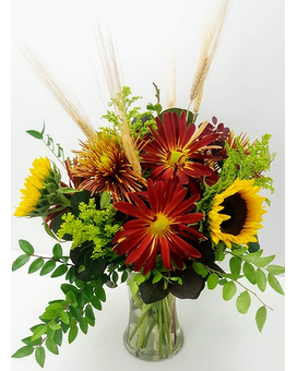 Fall Burst Flower Arrangement