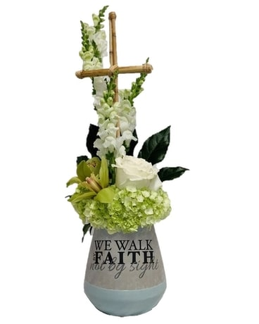 Walk in Faith Flower Arrangement