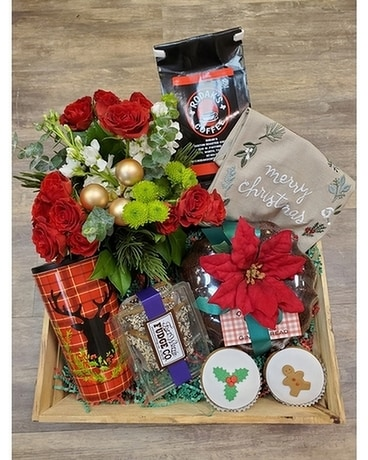 Taste of Christmas Gift Basket