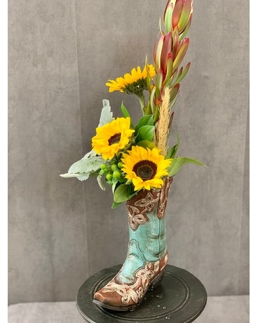 Bloomin' Boot