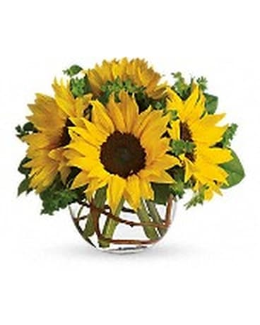 Sunny Sunflowers Flower Arrangement