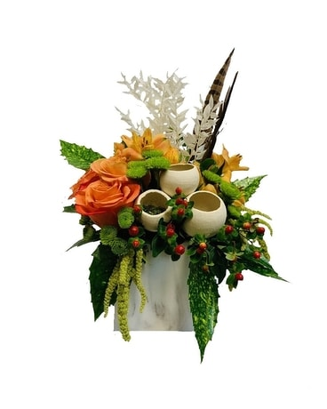 Marble Fall Flower Arrangement
