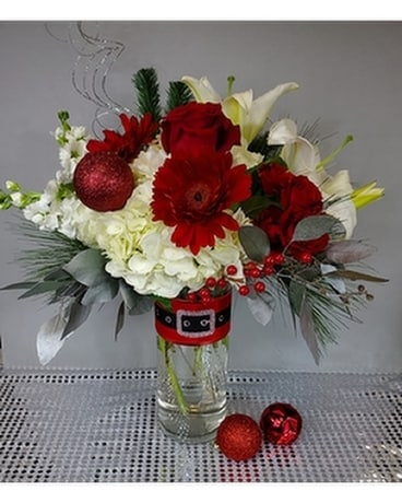 Kris Kringle Flower Arrangement