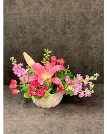 LILY OF THE GARDEN Flower Arrangement