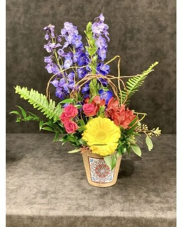 SUNSET HARBOR Flower Arrangement