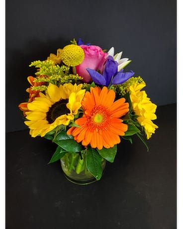 Custom Seasonal MIx Flower Arrangement