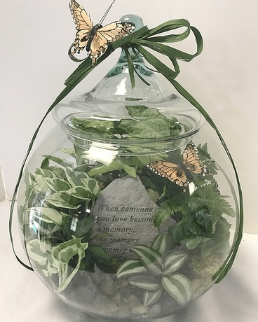 12  Terrarium Stone Flower Arrangement
