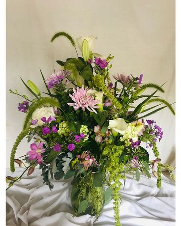 Shabby and Chic Flower Arrangement