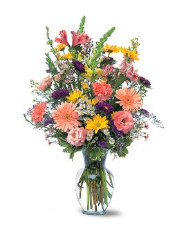 Timeless Pastels Flower Arrangement