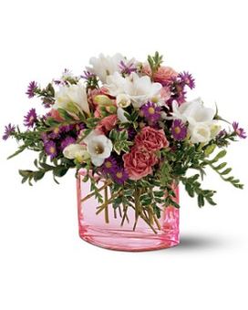 Teleflora's Watercolor Garden Bouquet Flower Arrangement
