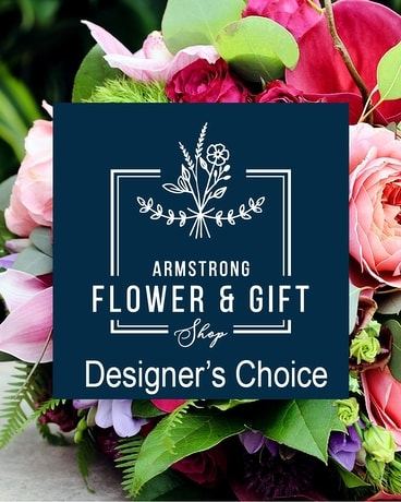Armstrong Designer's Choice Bouquet Flower Arrangement