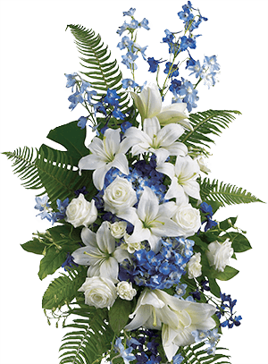 sympathy middle bouquet image