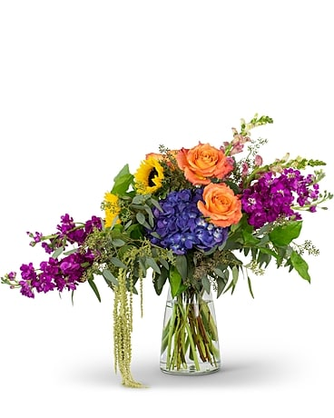 April's Bouquet of the Month-  Naturally Prisma Flower Arrangement
