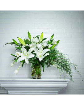 Timeless Memories Vase Flower Arrangement