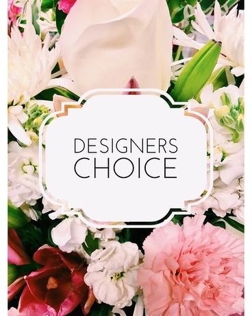 Designer's Choice - ROMANTIC Flower Arrangement