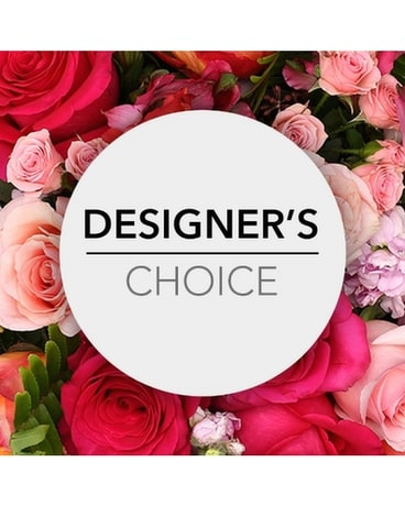 Designer's Choice - Passionate Flower Arrangement