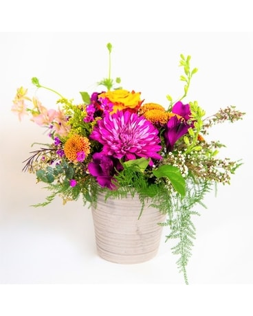 Wild And Free Flower Arrangement