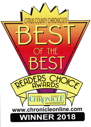 Readers Choice Best of the Best Winner 2018