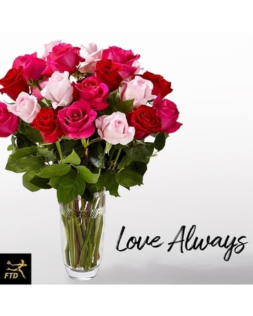 FTD Love Always Bouquet- Vera Wang Flower Arrangement