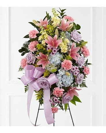 Blessings of the Earth Easel Funeral Arrangement