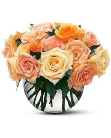 Perfect Pastel Roses Flower Arrangement