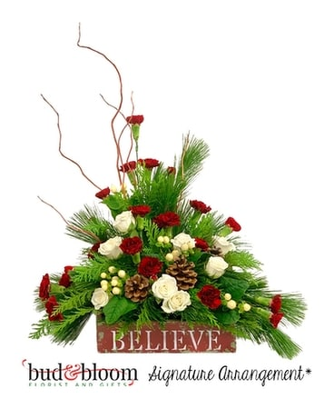 Believe Flower Arrangement