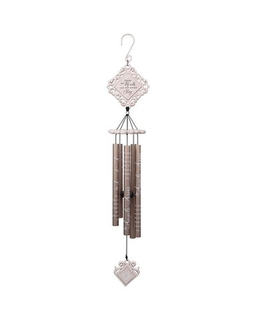 Angel's Arms 35in White Vintage Chime Gifts