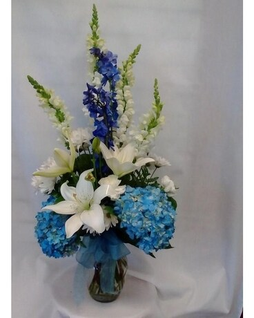 Blue Heaven Flower Arrangement