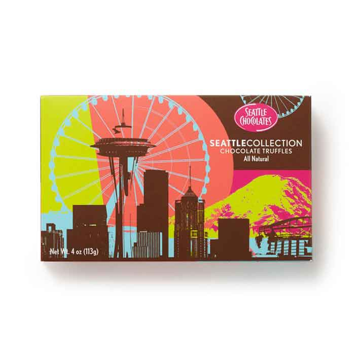 Seattle Chocolates 4 oz. Truffles