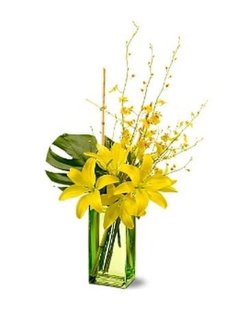 Touch of Tranquility Flower Arrangement