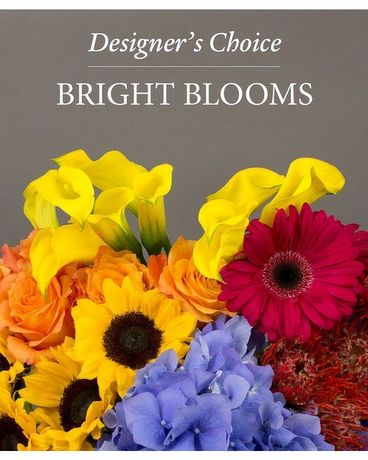 Designer's Choice - Bright Blooms Flower Arrangement