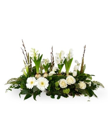 Woodruff Place Wonder Flower Arrangement