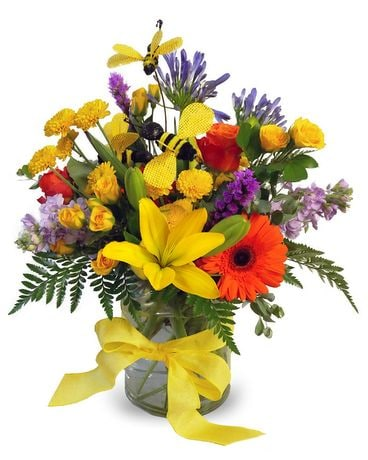 Sweet as Honey Flower Arrangement