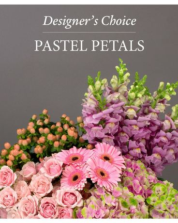 Designer's Choice - Pastel Petals Flower Arrangement