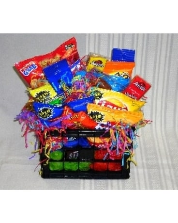 Small Snack Food Basket