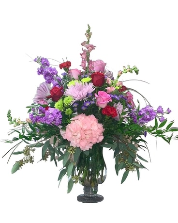 Romance Story Bouquet Flower Arrangement