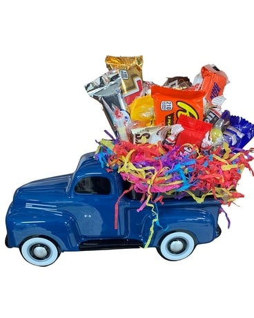 Truck Load of Snacks Gift Basket