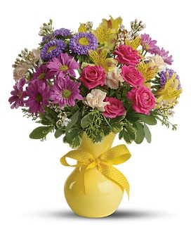 Teleflora's Color It Happy Flower Arrangement