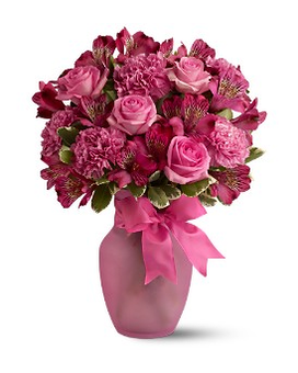 Pink Blush Bouquet Flower Arrangement