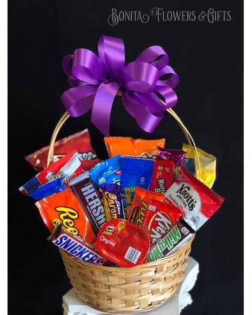 Munchie Basket Gift Basket