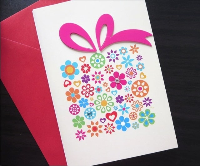 Full Sized Greeting Card