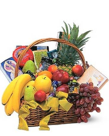 Gourmet Fruit Basket In Miami Fl Brickell Ave Flowers Gifts