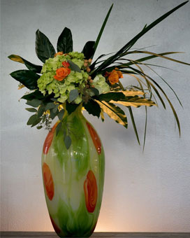 Art In Bloom Flower Arrangement