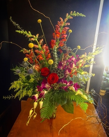 Contemporary Smiles Flower Arrangement