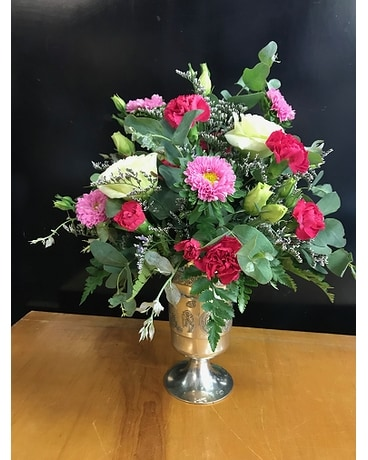 Irish Goblet of Goodies Flower Arrangement