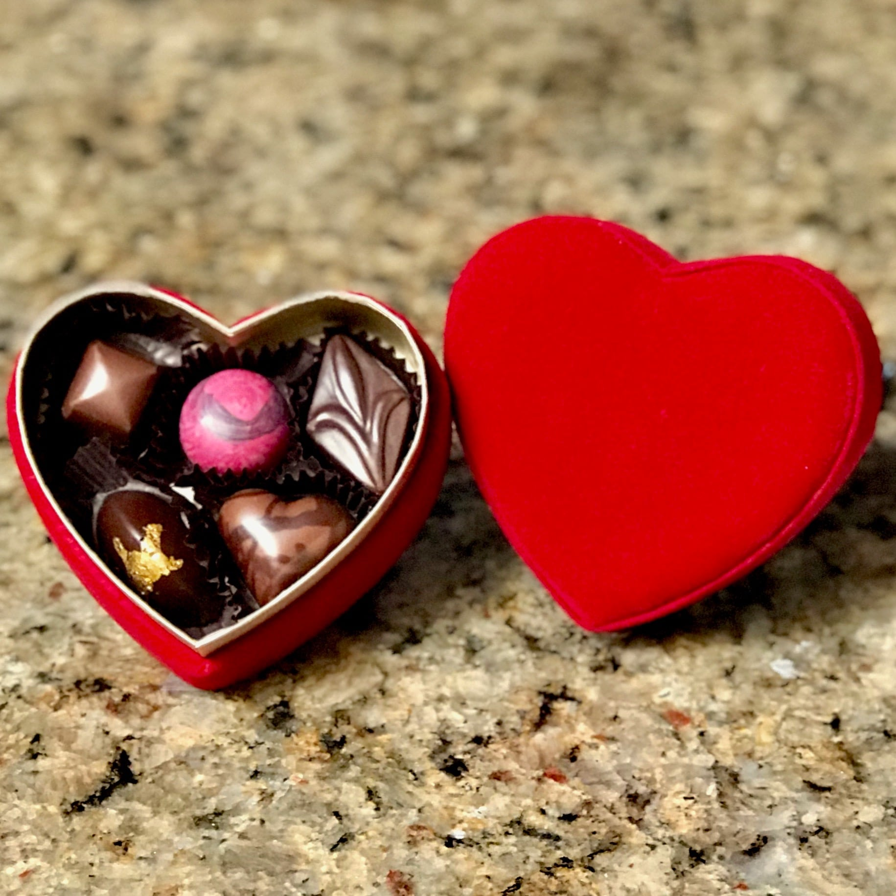 Ashby Confections - Scotts Valley - Fuzzy Heart