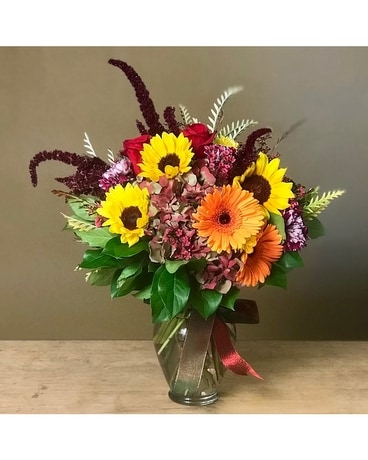 Fall Splendor Flower Arrangement